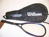 Wilson Sledge Hammer 3.8 Tennis Raquet With Case 4 3/8 95 SQ Inch