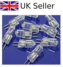 10Pcs Mini Blanco Cálido G4 12V 10W Bombilla Halógena Lámpara Bombilla luz de tungsteno Reino Unido ><>