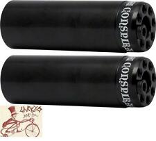 "SHADOW CONSPIRACY 4.33"" LITTLE ONES 3/8""-14MM AXLE BLACK  BICYCLE PEGS--1 PAIR"