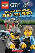 LEGO® CITY: Detective Chase McCain: Stop that Heist!, King, Trey, Scholastic, In