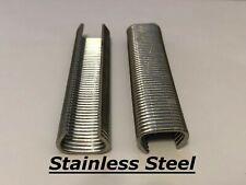"""Hog Rings 500pk 9/16"""" Stainless Steel *Blunt Point* Rings Netting Car Upholstery"""
