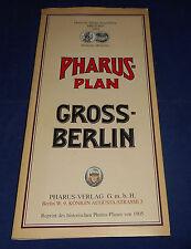 Reprint Pharus-Plan Grossberlin 1905
