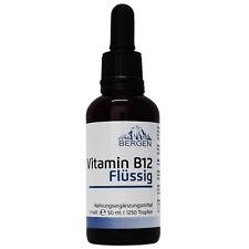 Vitamin B12 (Methylcobalamin) Flüssig (1000 µg pro Portion / 200µg pro Tropfen