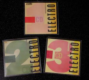 ELECTRO  1,2,3  STREET SOUNDS cds