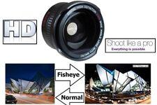 SUPER WIDE HD FISHEYE LENS FOR PANASONIC HDC-SD100 HDC-HS100