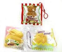 Cute Kawaii Rabbit Bear Chick Phone Food Charm Japanese Blind Box Toy 1pc Random