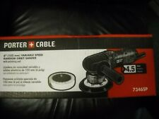"Porter Cable 7346SP 6"" Variable Speed Random Orbit Sander + Polishing Pad New"