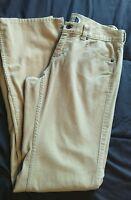 The North Face Women's Tan Cords Pants Size 4 Regular VGC