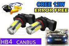 HB4 9006 cree 12w LED SMD CANBUS ERROR FREE CREE COB AUDI BMW VW WHITE 6000k