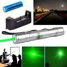 200Miles Astronomy Green Laser Pointer Pen Single Point Visible Beam+Batt+Charge