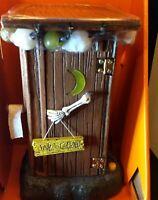 NIB Halloween~Haunted Outhouse Skeleton Lighted Talking Motion Sensor Bathroom