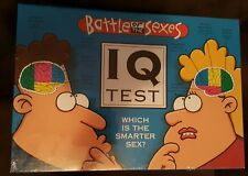 Brand new sealed -Battle of the Sexes IQ Test Board Game - free shipping