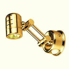 "Victory AA00944 Brass Swivel Reading Light 2-1/2"" Base Adjustable Arm 90069-1299"