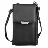 Women Lovely Mini Cross-Body Cell Phone Shoulder Strap Wallet Pouch Bag Purse