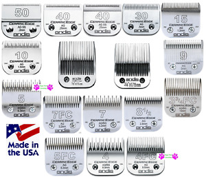 ANDIS CERAMICEDGE & Steel Pet Grooming Blade*Fit Many Oster,Wahl,Laube Clippers