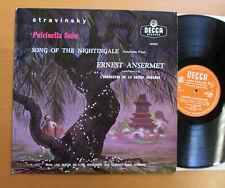 LXT 5233 Stravinsky Pulcinella Suite Nightingale Ansermet Decca (= SXL 2188)