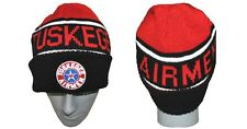 Tuskegee Airman Redtails US ARMY Black Red SKI CAP BEENIE BEANIE SKULL CAP
