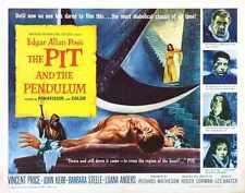 Pit And Pendulum Poster 02 Metal Sign A4 12x8 Aluminium