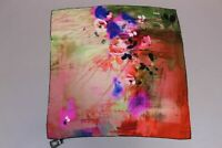 Aker Women's Silk Floral Scarf SV3 Multi-Color One Size NWT