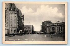 Ottawa, Ontario, Canada - RARE 1900s STREET SCENE - CONNAUGHT PLACE - POSTCARD