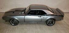 Acme Guycast 1:18 1968 Pontiac - Firebird In Gray - New