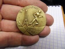 Ancienne medaille bronze des 20 KM de Paris marathon 14 Octobre 1990