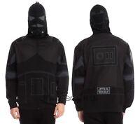 New Star Wars Shadow Trooper Black Hoody Sweatshirt Hoodie Men Sizes Full Zip SM