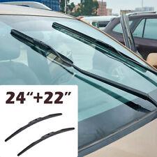 "24""+22"" 2pcs/Set Front Windshield Wiper Blades fit for Dodge Lexus LX570 Toyota"