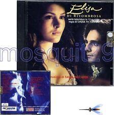 ELISA DI RIVOMBROSA RARO CD OST - SAVIO RICCARDI