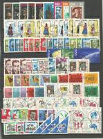 DDR 1964 gestempelt  komplett mit allen Einzelmarken  SUPER Stempel  3 Foto`s