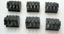 Set of Six (6) Niles Speaker Connectors / Plugs - Fits:  SSVC-2, TVC-1, SS4, SS6