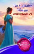 New, The Captain's Woman (Super Historical Romance), Lovelace, Merline, Book
