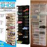 26 Section strong Shoe Shelves Over the Door Shoe Rack Hanging Shoe Organizer