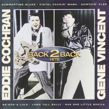 Eddie Cochran - Back to Back Hits Cochran and Vincent [Audio CD 2007] Import NEW