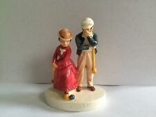 Sebastian Miniatures Croquet Sport Couple Man Woman