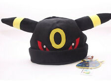 New Nintendo Pokemon Umbreon Noctali Nachtara Plush Hat Great Gift Cosplay