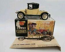 Corgi Classics no. 9032 Yellow 1910 Renault original 1960s issue