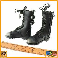 End War Umir - Female Boots (for Feet) - 1/6 Scale - Flagset Action Figures