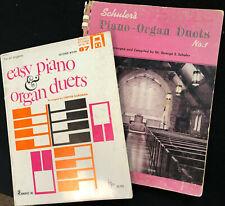 Piano Organ Duets Easy Piano & Organ Duets plus Schuler'S Piano-Organ Duets