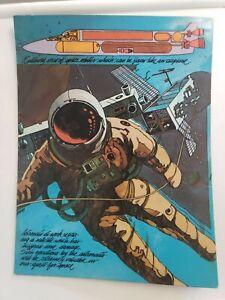 Vintage Rare  Space Astronaut Trapper Keeper Mead Portfolio