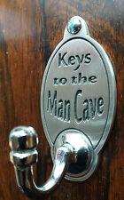 Le chiavi per il Cavernicolo Gancio Chiave (esclusivo design) incise Peltro Inglese
