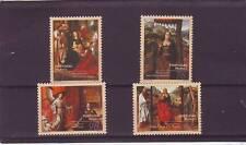 A122-Madeira-SG307-310 Estampillada sin montar 1996 religiosa pinturas de los artistas flamencos