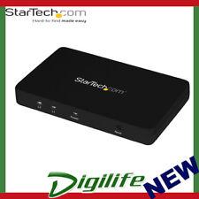 STARTECH 4K HDMI 2 Port Video Splitter1x2 HDMI Splitter w/Solid Aluminum Housing