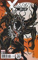 X-Men Blue Comic 25 Cover B Venom Variant First Print 2018 Marvel Culle  Bunn