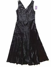 New Ralph Lauren Collection Italy Made Formal Black A-Line Gown Dress size 10