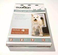 Guardian by PetSafe White Plastic Pet Door Medium Size Dogs w Magnetic Closure