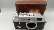 +1969 Vintage Zorki 4 basada en la película de Telémetro Leica M39 Tornillo Cuerpo + Estuche! EXC +