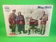 ICM MODELS 1/35th Scale WWII Soviets At Rest May 1945 Model Kit 35541 NEW!
