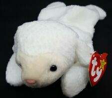 TY 1996 FLEECE the LAMB BEANIE BABY - MINT with MINT TAGS