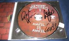 Anvil is Anvil Steve Robb Chris Metal Rock Signed CD © 2016 w/COA brand new pres
